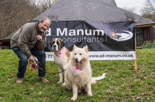 Ad Manum sponsor the annual Doggy Dash charity event